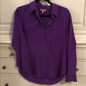 Juicy Couture purple button down